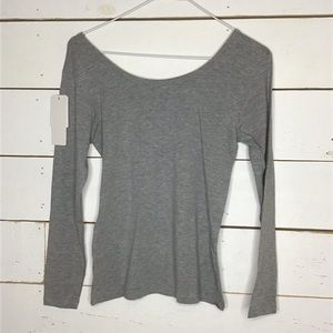 New Laing Rou Basic Simple Comfy T Shirt Stretch